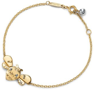 Tiffany & Co. Return to TiffanyTM Love Bugs bee chain bracelet in 18k gold and sterling silver