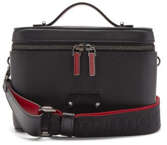 Christian Louboutin Kypipouch Small Leather Box Cross-body Bag - Black