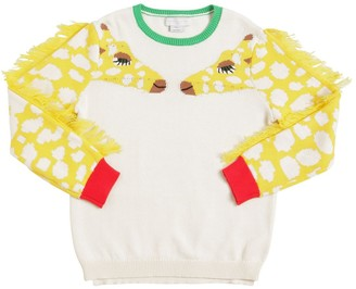 Stella McCartney Organic Cotton Tricot Knit Sweater