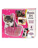 Fashion World Mosaic Art Cute Kittens