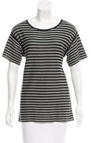 Alexander Wang Striped Short Sleeve T-Shirt
