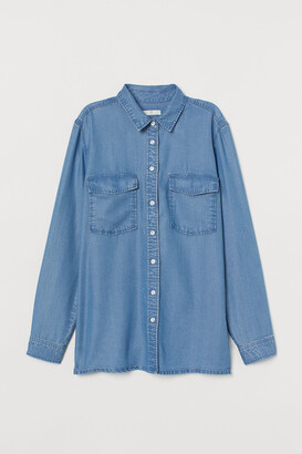 H&M Lyocell denim shirt