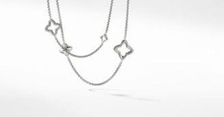 David Yurman Davidyurman Quatrefoil Chain Necklace