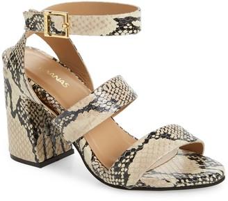 Kaanas Komodo Ankle Strap Sandal
