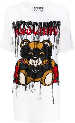 Moschino Bat Teddybear T-shirt dress
