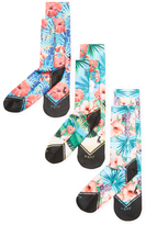 Florals Socks (3 PK)