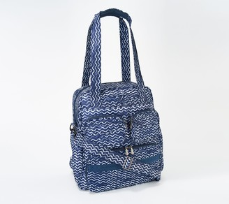Lug Quilted RFID North/South Tote - Puddle Jumper SE