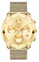 Movado Bold Yellow Gold Ion-Plated Stainless Steel Chronograph Bracelet Watch