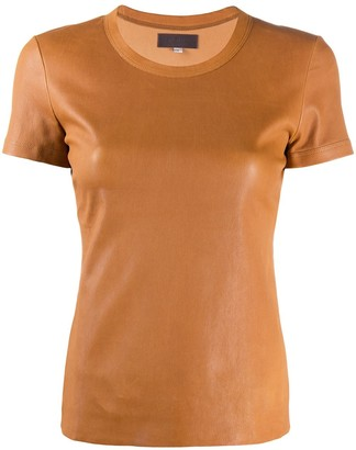 STOULS leather T-shirt