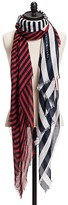 Tommy Hilfiger Feather Weight Stripe Scarf