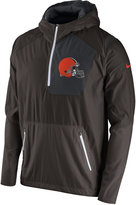 Nike Men's Cleveland Browns Vapor Speed Fly Rush Hooded Jacket