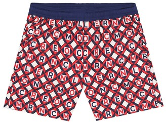 Moncler Enfant Printed swim shorts