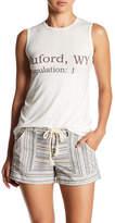 Go Couture Sleeveless Split Back Tank