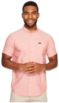 RVCA That'll Do Oxford Short Sleeve Woven Men's Short Sleeve Button Up
