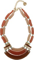 PONO by Joan Goodman Resin Metallic Bead Necklace