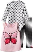 Bonnie Baby Baby-Girls Infant Butterfly Fleece Legging Set
