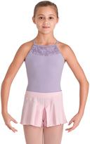 Bloch Candy Pink Split Jersey Short - Girls