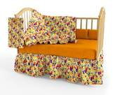 Room Magic Zoo 4 U Crib Bedding Set by