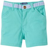 Andy & Evan Twill Shorts (Baby) - Light Green 18-24 Months
