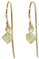 Tate Tiny Diamond Geometric Earrings