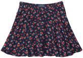 Polo Ralph Lauren Cotton Flounce Skirt (Big Kids)