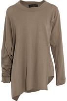 Vivienne Westwood Asymmetric Pointelle-Knit Sweater