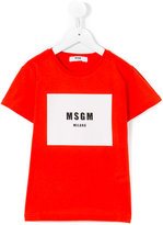 MSGM print T-shirt - kids - Cotton - 4 yrs