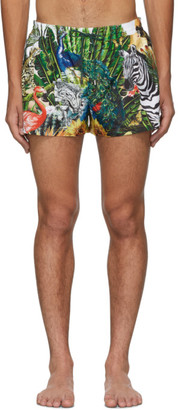 Dolce & Gabbana Multicolor Giardino 2 Swim Shorts