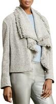 Lauren Ralph Lauren Fringe Wool-Blend Jacket