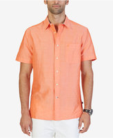 Nautica Men's Classic-Fit Ramie Shirt