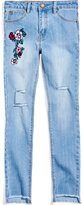 Nowadays Megan & Liz Tween Embroidered Denim Jeans, Big Girls (7-16) & Juniors (1-5)