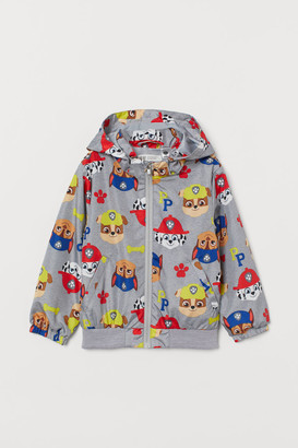 H&M Patterned windbreaker
