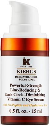 Kiehl's Powerful-Strength Line-Reducing & Dark Circle-Diminishing Vitamin C Eye Serum 15ml