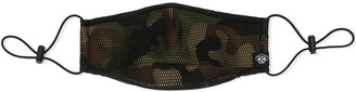 Mostly Heard Rarely Seen Camouflage Mesh Face Mask