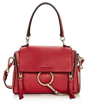 Chloé Faye Mini Leather Satchel