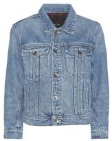 Helmut Lang Shrunken denim jacket