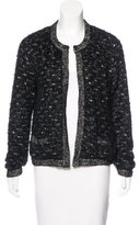 Magaschoni Tweed Knit Jacket