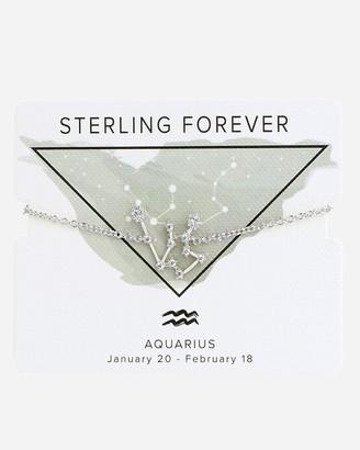 Express Sterling Forever Silver Aquarius Constellation Bolo Bracelet
