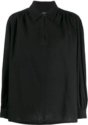A.P.C. collared blouse