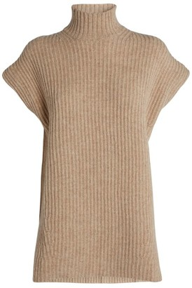 Ganni Short-Sleeved Rollneck Sweater