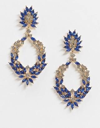 Pieces Margot Crystal earrings