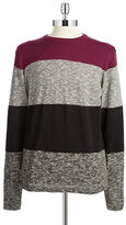 DKNY Block Striped Pullover