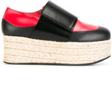 Marni espadrille platform loafers - women - Leather/rubber - 35