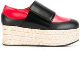 Marni espadrille platform loafers