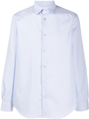 Paul Smith Checked Tailored-Fit Cotton Shirt