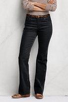 Classic Women's Boot Cut Corduroy Pants-Rich Sapphire