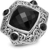 Lois Hill Women's Onyx Square Ring