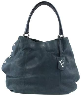 Furla Green Leather Handbags