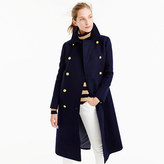 J.Crew Double-breasted topcoat in wool-cashmere