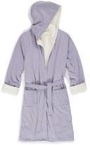 Girl's Tucker + Tate Fluffy Hooded Robe